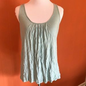 Anthropologie tank top light blue size small